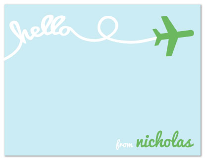 personal stationery - It's Written in the Sky by Nicki Davis