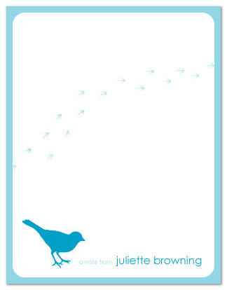 personal stationery - Tweet Tweet by Nicki Davis