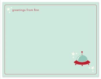 spaceship greetings