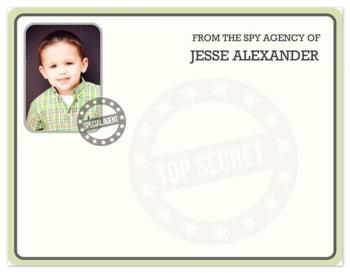 Secret Agent Top Secret Document