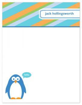 Hello, Penguin