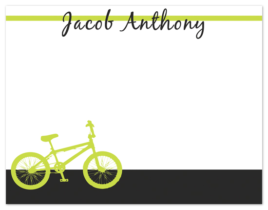 personal stationery - Bike It Out by Ashley Travers