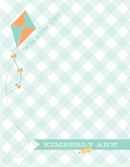 personal stationery - Flying High  by Jessica Kwok
