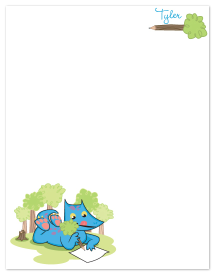 personal stationery - Dragon Thoughts by CBeeProject