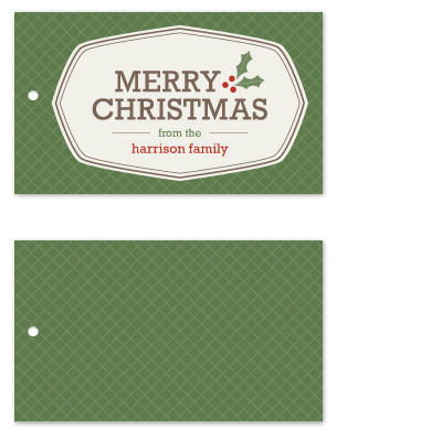 gift tags - Christmas Seal by Amber Barkley