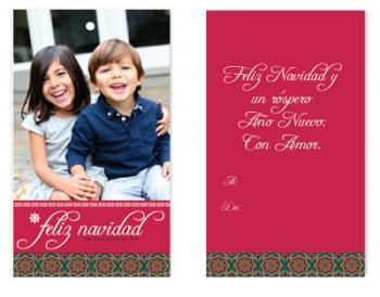 Feliz Navidad Spanish Tile