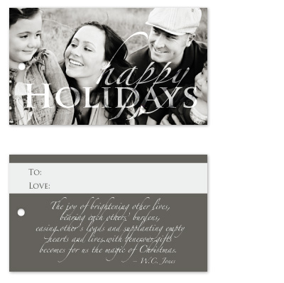 gift tags - Christmas Quote by Janelle Otsuki
