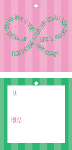 gift tags - From our Bow to Yours by Claire Marco
