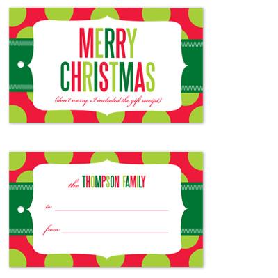 gift tags - Gift Receipt by Jill Zielinski Designs