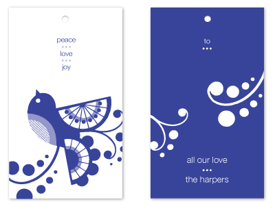 gift tags - Carried by Love by Lauren Elisabeth