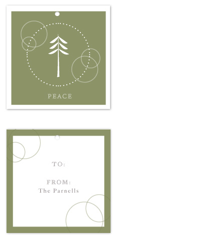 gift tags - Peace of Nature by Rodney Jones