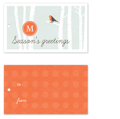 gift tags - hazy shade of winter by Stacey Meacham