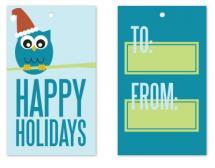 Owl Holiday by Jen Wawrzyniak