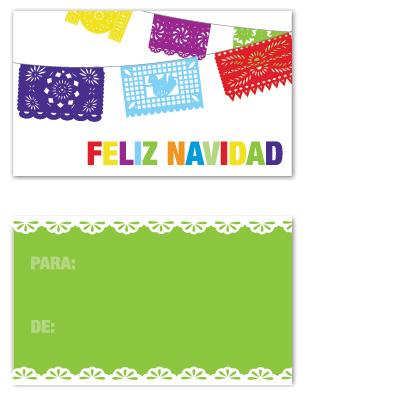 gift tags - Feliz Navidad Banner by Vanessa Wolfe