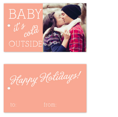 gift tags - A Cold Smooch by Lulubean Designs