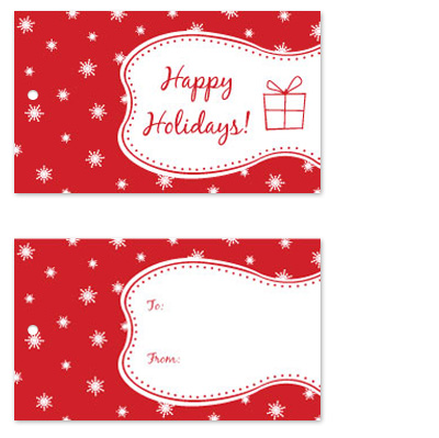 gift tags - Whimsy Holiday by Malty Designs
