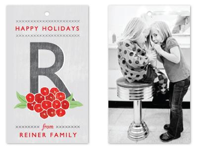 gift tags - Weathered Berries by Yolanda Mariak Chendak