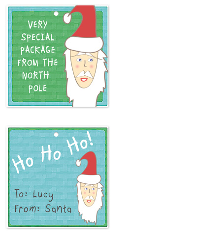 gift tags - Special Delivery From the North Pole by Kate Terhune