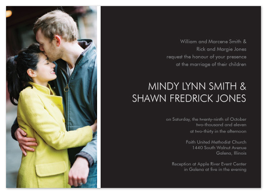 wedding invitations - Simple Elegance by mb design