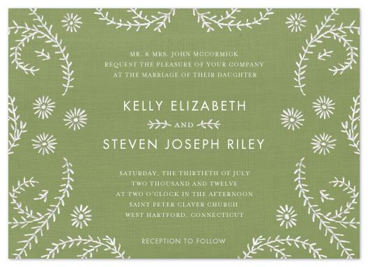 wedding invitations - Ties that Bind by Sandy Pons