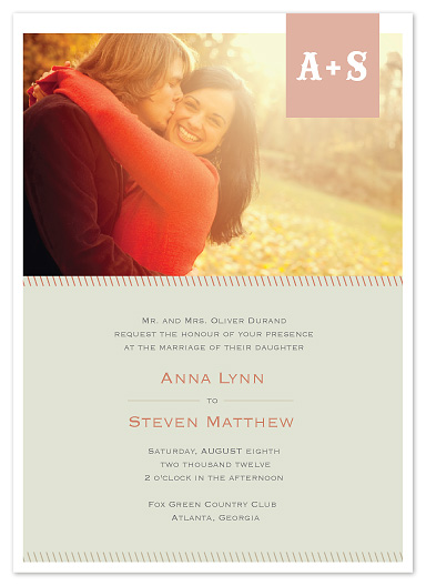 wedding invitations - Mello milkshake by Stacey Meacham