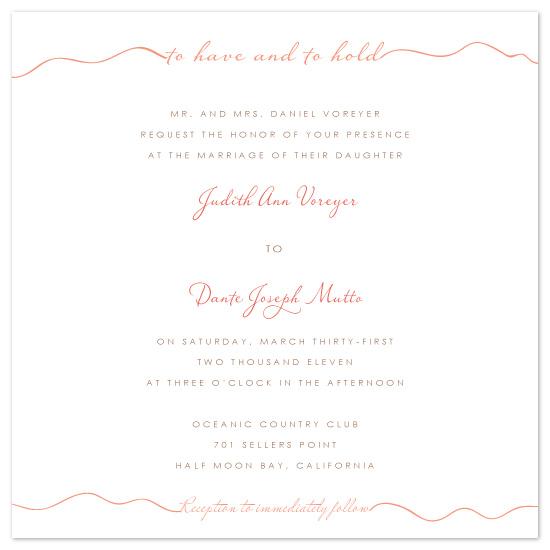 wedding invitations - Ribbon Love by Stella Bella Invites