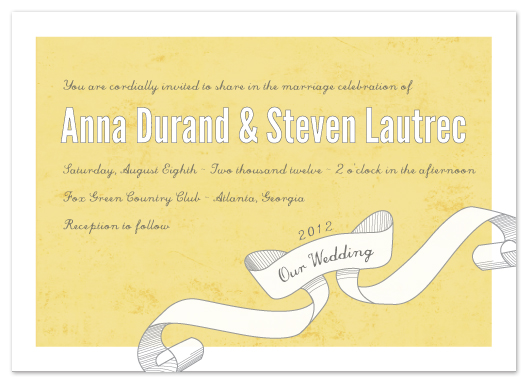 wedding invitations - Vintage flair by Stacey Meacham