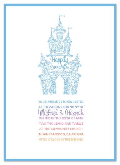wedding invitations - Happily Ever After by Eastwind Creations