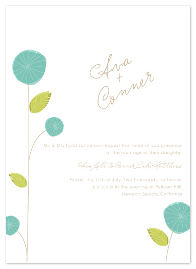 wedding invitations - Paper Blues by SunnyJuly