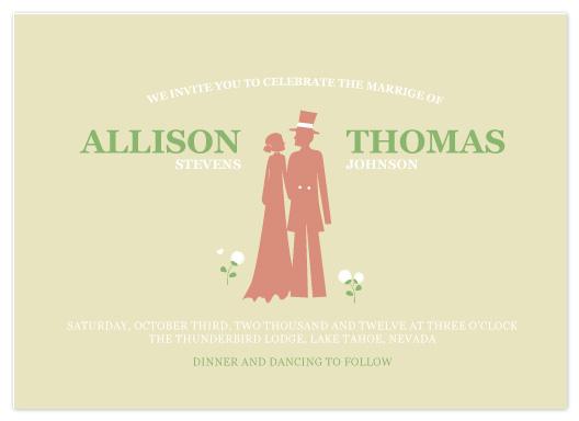 wedding invitations - Walking Silhouette by Åsa Ranneby