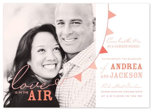 wedding invitations - Breath It In Banner Wedding by Potluck Design