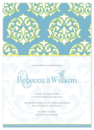wedding invitations - Modern Moroccan by Courtney Michelle Designs