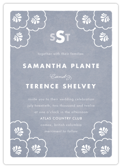 wedding invitations - Clam by Samantha Venator