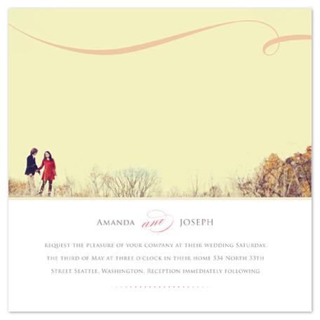 wedding invitations - great photo, big occasion by Ana Maria Villanueva