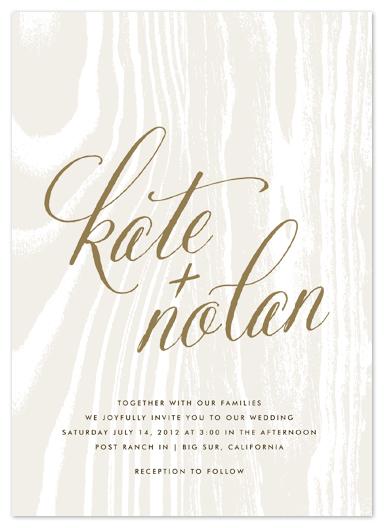 wedding invitations - big sur by annie clark