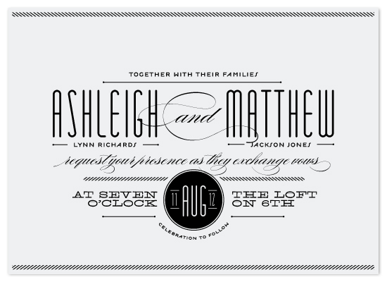 wedding invitations - Twine by Lauren Chism