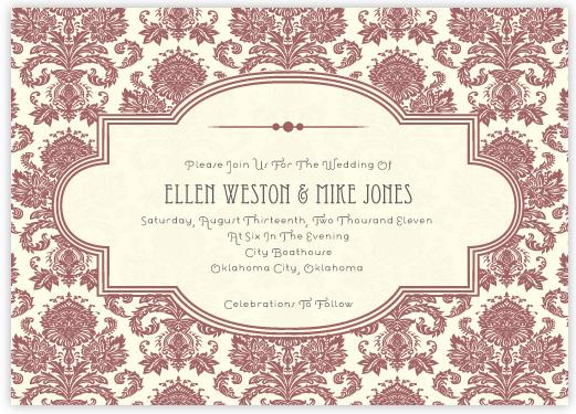 wedding invitations - Modern Sophisticate by Anna Elder