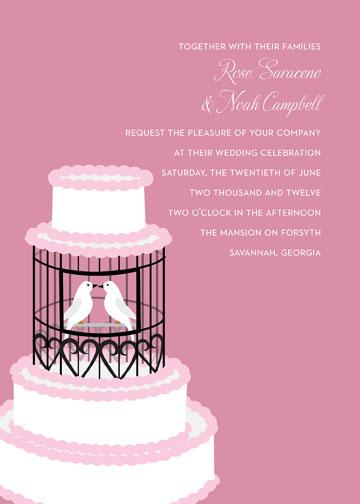 wedding invitations - Love Birds by Kristen OCallaghan