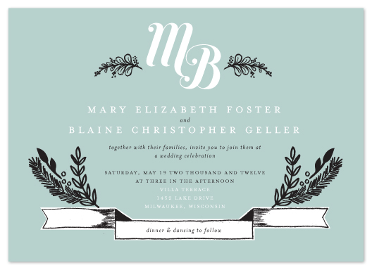 wedding invitations - Sweet Rustic Charm by Alethea and Ruth