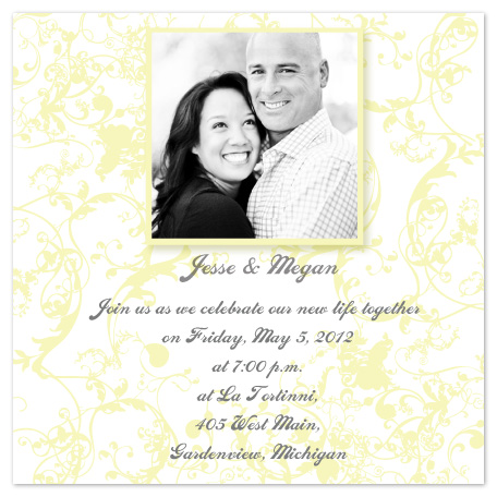 wedding invitations - Fanciful Filigree by Kelly Solheim