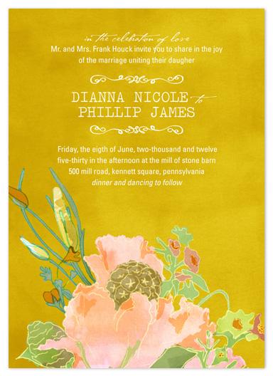 wedding invitations - annabell by Beth Ann