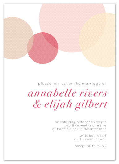 wedding invitations - Circular Patterns by jmelianne