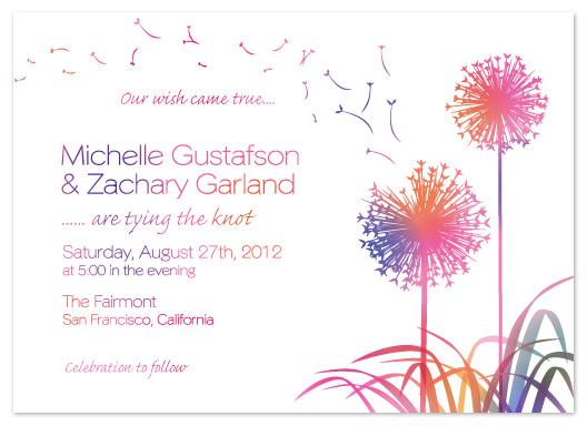 wedding invitations - Make a Wish by Janelle Otsuki