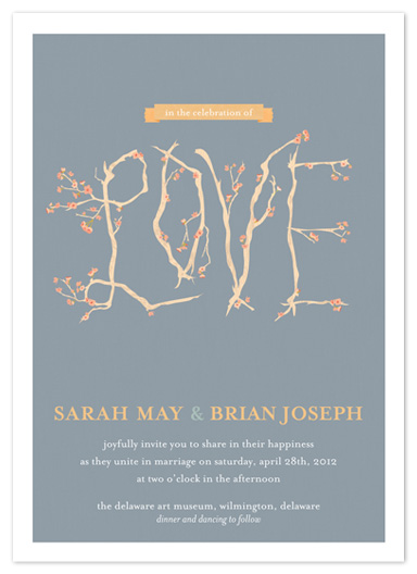 wedding invitations - In the Celebration of Love by Beth Ann