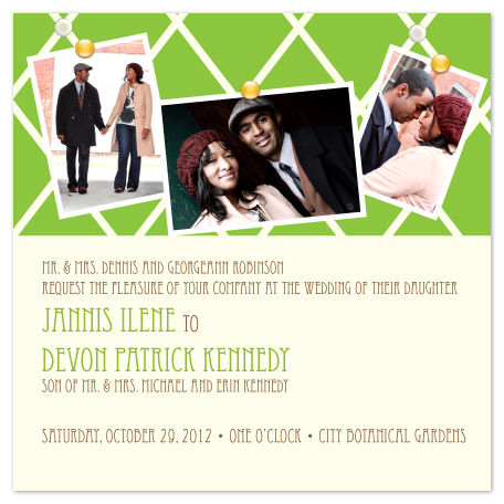 wedding invitations - Love Notes by Aisle Say Wedding Papers by Graphix Blue LLC