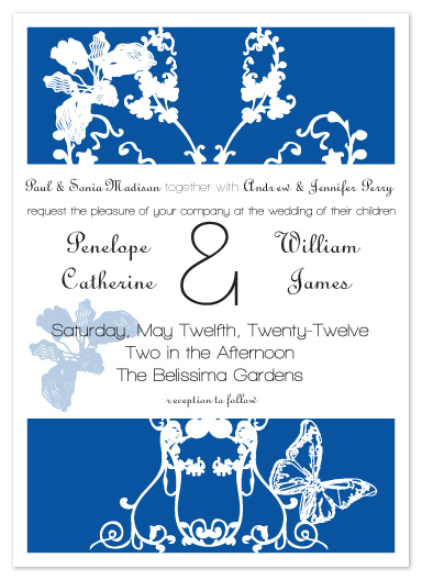 wedding invitations - Joia Jardim by Aisle Say Wedding Papers by Graphix Blue LLC