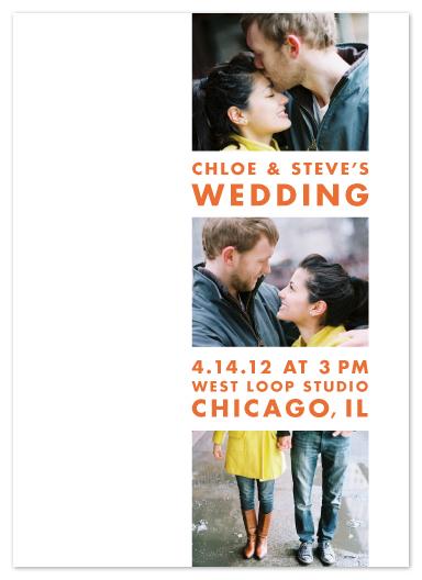 wedding invitations - Mod Column by Erin Pescetto