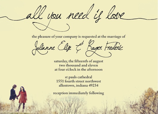 Wedding Invitations All You Need By Jessica Smith