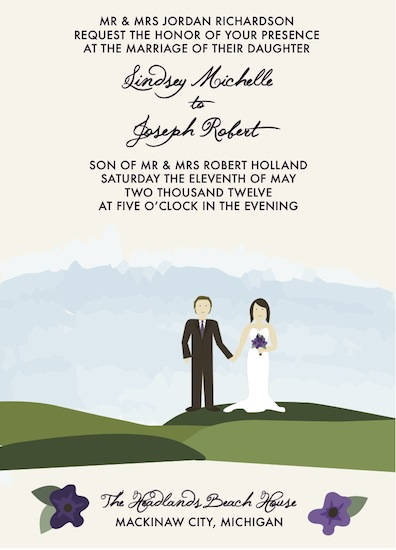 wedding invitations - The Happy Couple by Jessica Smith