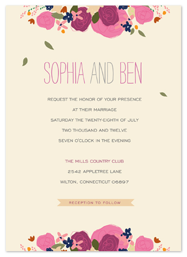 wedding invitations - Country Elegance by Larkspur Paperie